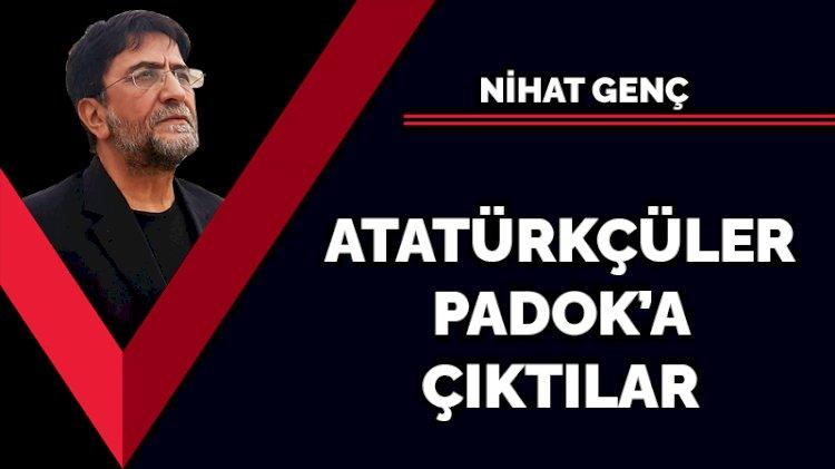Atatürkçüler Padok'a çıktılar