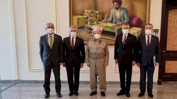 CHP'den Erbil'e dikkat çeken ziyaret