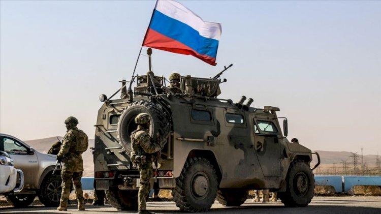 Suriye'de bir Rus asker hayatını kaybetti
