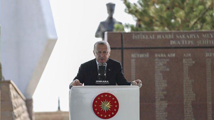 Erdoğan: Cumhuriyet tarihinin en cesur makas değişikliğini yaptık
