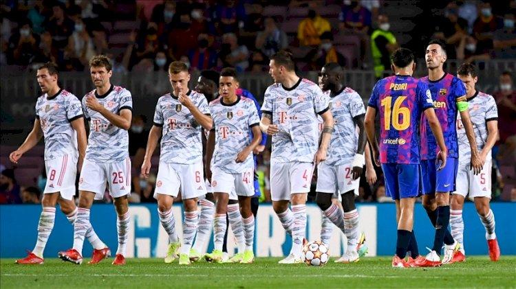 Bayern Münih, Barcelona'yı deplasmanda hezimete uğrattı