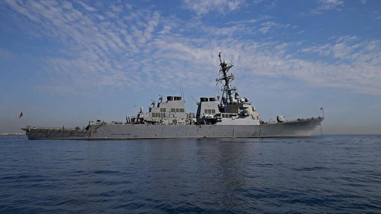 Çin donanması Alaska açıklarında