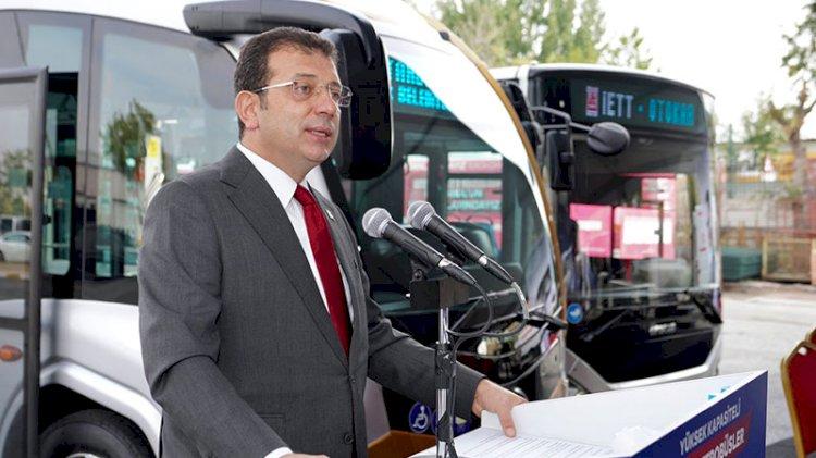 160 yeni metrobüs için imzalar atıldı... Törende Cumhurbaşkanı'na 'imza' tepkisi