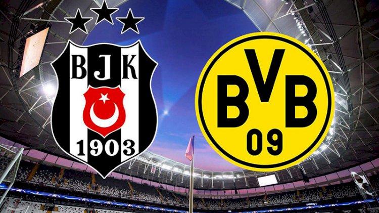 Beşiktaş-Dortmund karşılaşmasında ilk 11'ler