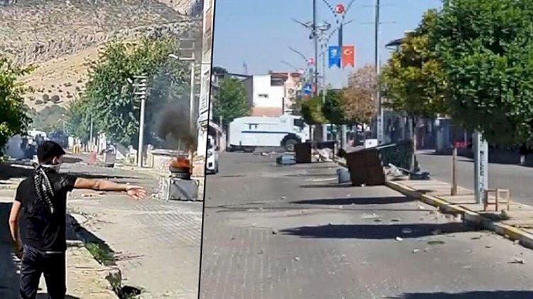 Diyarbakır'da gerginlik! Sokaklar savaş alanına döndü