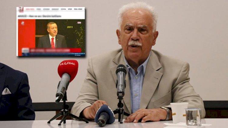 Perinçek'e göre A Haber, Erdoğan'ı sabote ediyor