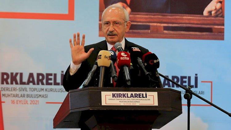 Kılıçdaroğlu: 1 yıl içinde çözmezsem siyaseti bırakacağım