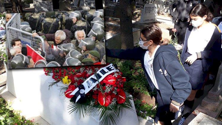 Barikatları yıkan 'Jön Türk'... Tarık Akan mezarı başında anıldı