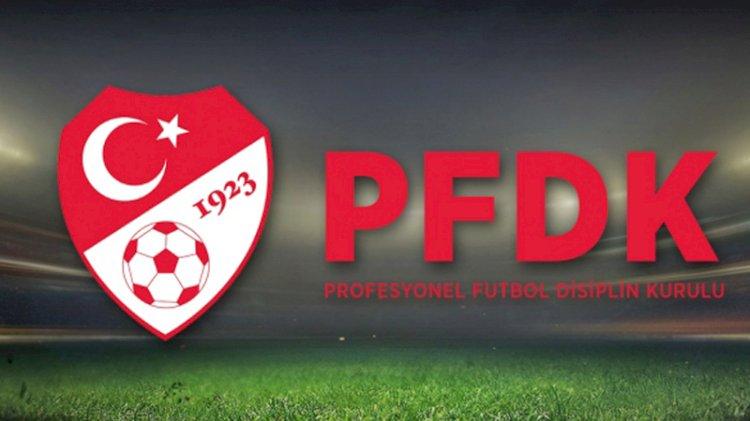 TFF 1'inci Lig'den 3 ekip PFDK'ya sevk edildi