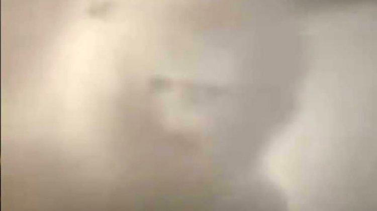 İstanbul'da insan silüetinde bulut oluştu