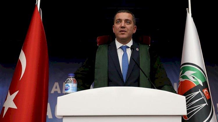 Ankara Barosu'nda Erinç Sağkan yeniden başkan seçildi
