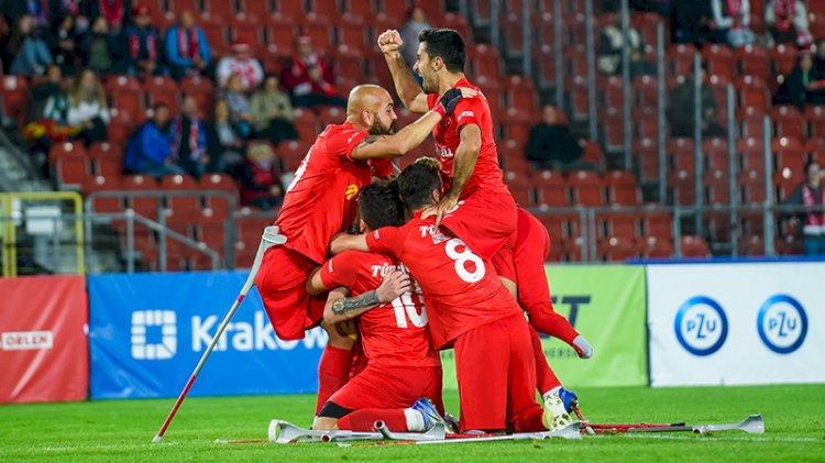 Türkiye Ampute Futbol Milli Takımı Avrupa Şampiyonu!
