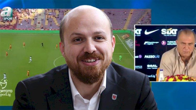 A Spor'da Fatih Terim'e Bilal Erdoğan şoku
