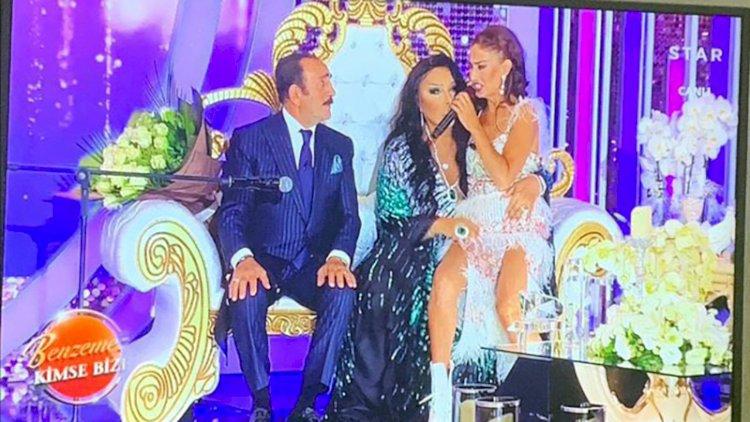 Star TV'nin yeni programında ilginç anlar... Mikrofonu açık kalan Bülent Ersoy'dan 'kovulduk' sözü