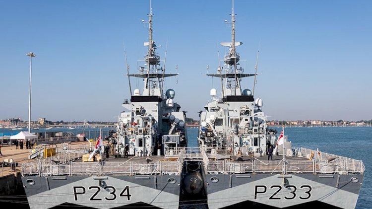 Aukus Paktı: İki İngiliz savaş gemisi yola çıktı