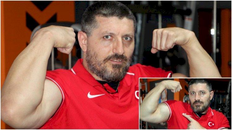 Dünyada bileği bükülmeyen Türk: Sağ ve sol kolda şampiyon