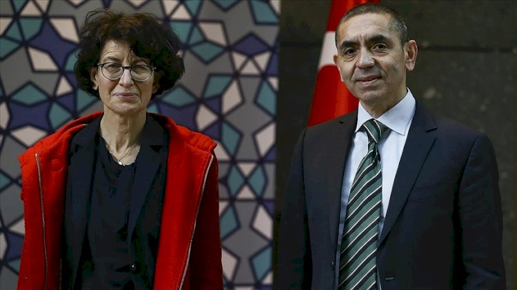 Türeci ve Şahin çiftine Almanya'dan büyük bilim ödülü