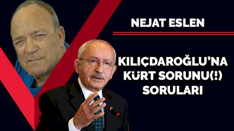 Kılıçdaroğlu'na Kürt sorunu(!) soruları