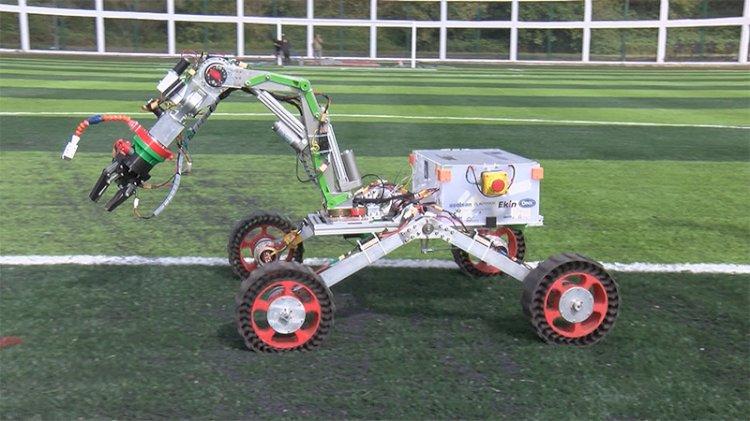 Uluslararası yarışmada Türk öğrencilerden gururlandıran başarı: En iyi robot kol