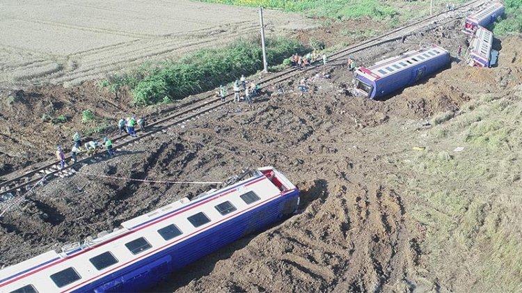 Çorlu'daki tren kazasında yaralanan yolculara rekor tazminat