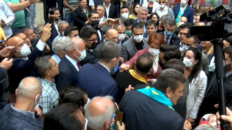 'Akşener'in sırtını sıvazladığı kişi, Bylock'tan ihraç edilmiş eski bir polis memuru'