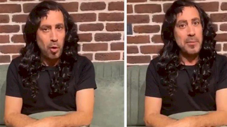 Haluk Levent peruk taktı, sevenlerini 'tehdit' etti