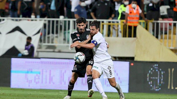 Beşiktaş, Altay'a mağlup oldu