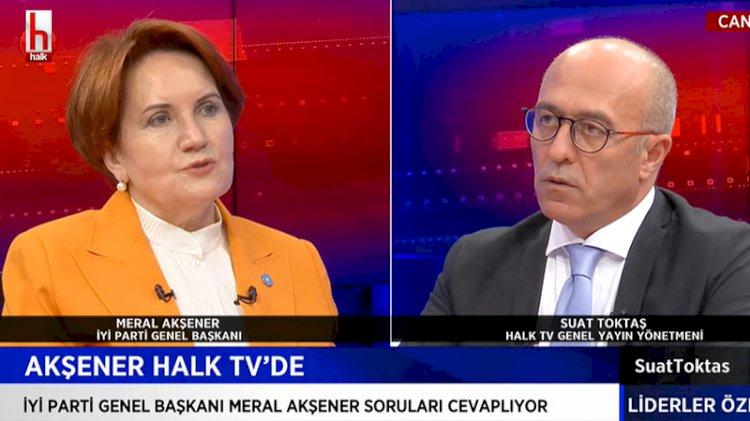 Meral Akşener: Ben cumhurbaşkanı adayı değilim...