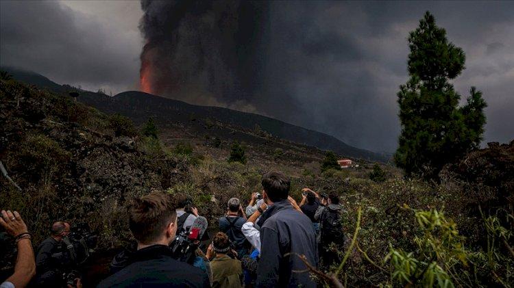 La Palma Adası'nda yanardağdaki patlamaların şiddeti arttı
