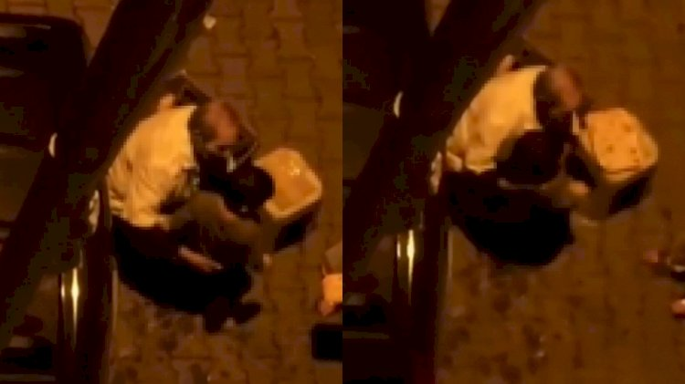 Sokak ortasında iki erkek çocuğuna taciz