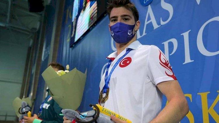 Milli yüzücüden tarihi dünya şampiyonluğu