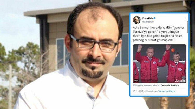 FETÖ'cülerden montaja devam... Erdoğan ve Aziz Sancar'ın görüntüsünü değiştirdiler