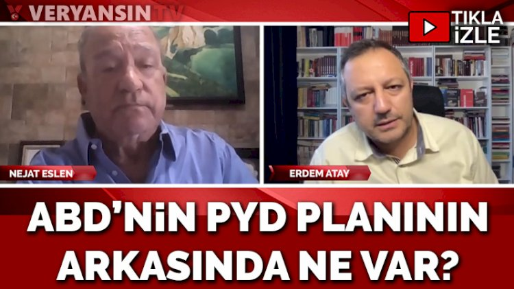 ABD'nin YPG planının arkasında 'su' var! Nejat Eslen