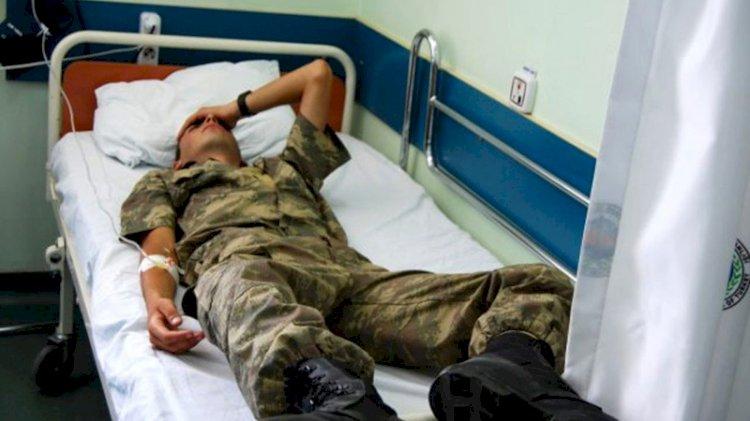 Kışlada 'gıda zehirlenmesi' şüphesi: 20'ye yakın asker revire kaldırıldı