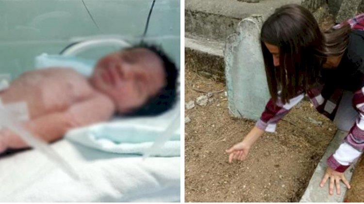 Mezarlıkta toprağa yarı gömülü bulunan bebeğin annesi ve anneannesi tutuklandı