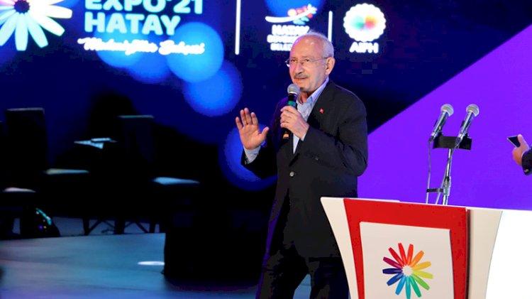 Hatay'a giden Kılıçdaroğlu'ndan Suriyeli mesajı