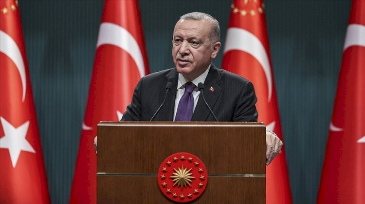 Kabine toplantısı sonrası Erdoğan'dan açıklama