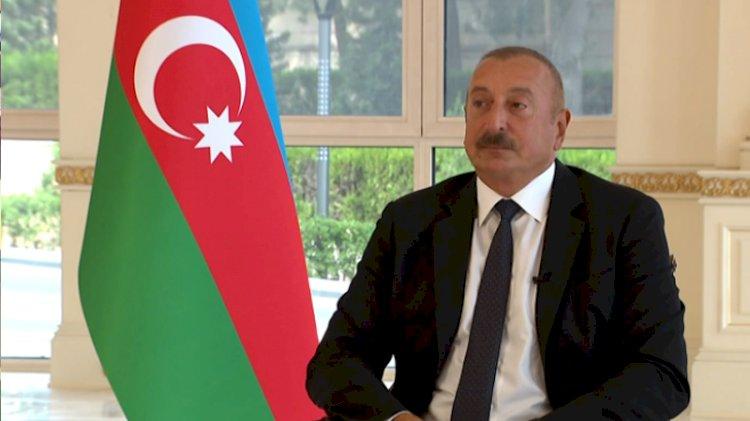 Aliyev o anları anlatırken gözyaşlarını tutamadı