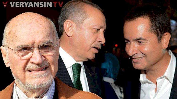 Hıncal Uluç'tan Erdoğan'a: Acun Ilıcalı'yı aratın