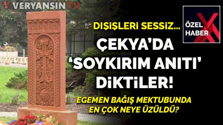 Dışişleri neden sessiz?... Çekya'da 'Ermeni soykırımı anıtı' diktiler!
