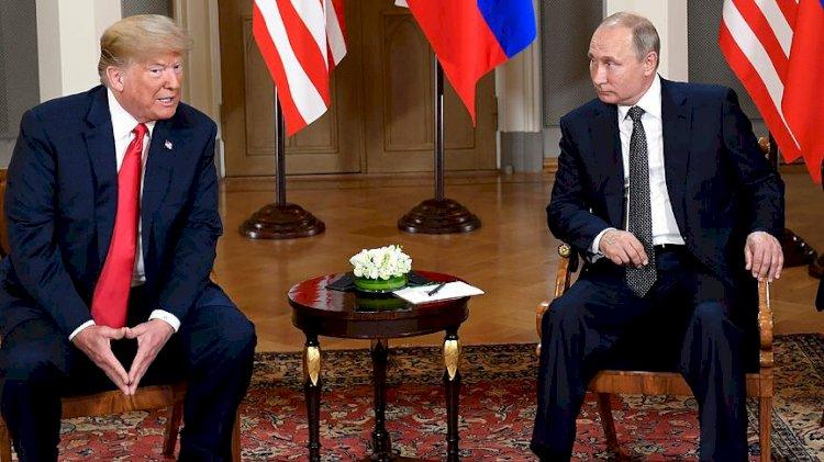 Trump'tan Putin'e: Sana kameralar önünde biraz sert davranacağım