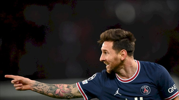 Messi, PSG formasıyla ilk golünü attı, Real Madrid evinde Sheriff'e yenildi