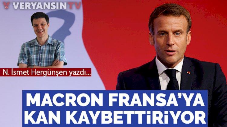 Macron Fransa'ya kan kaybettiriyor