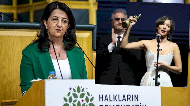 HDP kürsüsünden hangi sanatçılara destek geldi?