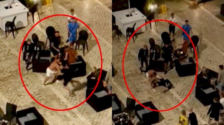 Rus ve İngiliz turistler oteli karıştırdı! 'Kız arkadaşa bakma' kavgası