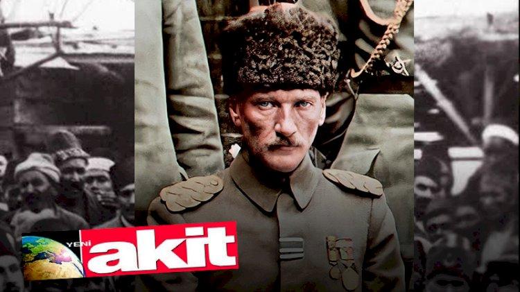 Yeni Akit yazarının sinsi Atatürk düşmanlığı... İsim vermeden 'Yahudi dönmesi' ilan etti