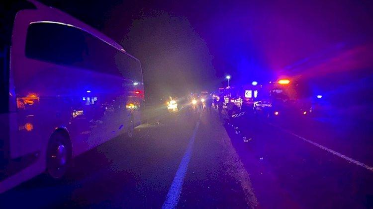Öğrencileri taşıyan otobüsler kaza yaptı! Yaralı sayısı 44'a yükseldi