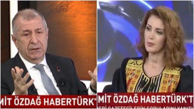 Ümit Özdağ'dan Nagehan Alçı'ya: Sizi toplumsal gerilimin mimarı olarak görüyorum