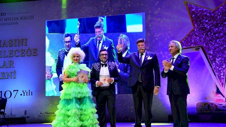 'Türk Sinemasını Geçmişten Geleceğe Taşıyanlar' ödülleri verildi