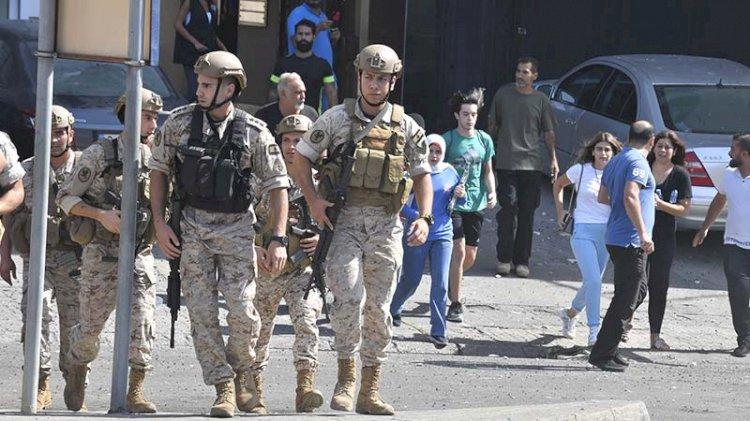 Lübnan'da silahlı çatışma... Asker sokağa indi